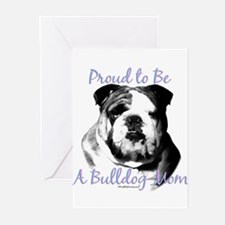 Bulldog 3 Greeting Cards (Pk of 10)