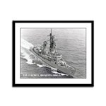 USS CLAUDE V. RICKETTS Framed Panel Print