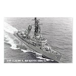 USS CLAUDE V. RICKETTS Postcards (Package of 8)