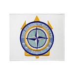 USS CLAUDE V. RICKETTS Throw Blanket