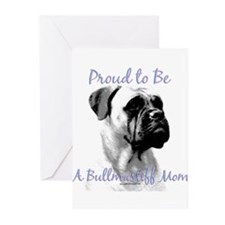 Bullmastiff 3 Greeting Cards (Pk of 10)
