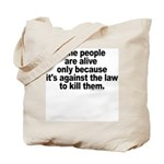 Against the Law Tote Bag