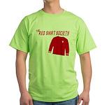 Red Shirt Society Green T-Shirt