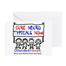 Cure Neurotypicals Greeting Cards (Pk of 10)