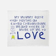 My Mommy Throw Blanket