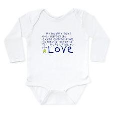 My Mommy Long Sleeve Infant Bodysuit