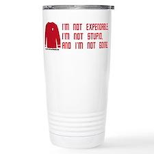 Red Shirt Society Travel Mug
