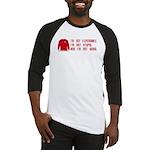 Red Shirt Society Baseball Jersey