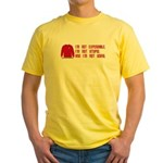 Red Shirt Society Yellow T-Shirt