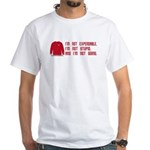 Red Shirt Society White T-Shirt