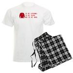 Red Shirt Society Men's Light Pajamas