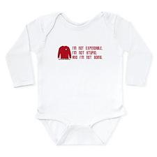 Red Shirt Society Long Sleeve Infant Bodysuit