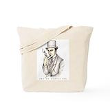 Sherlock tote bag Canvas Totes