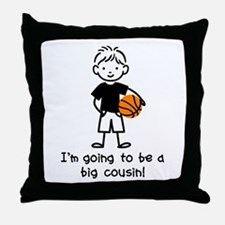 Big Cousin to be Throw Pillow