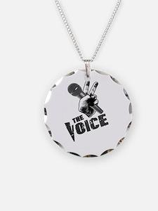 The Voice Grunge BlackGrey Bl Necklace