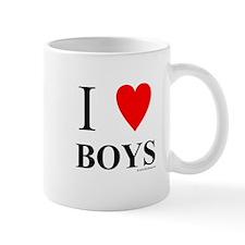 "I ""Heart"" Boys Mug"