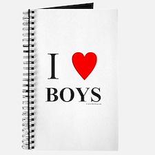 """I """"Heart"""" Boys Journal"""