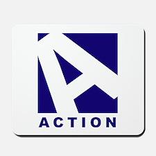 Designs: Action - Mousepad