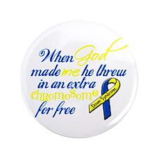 """Free Chromosome 3.5"""" Button"""