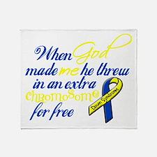 Free Chromosome Throw Blanket