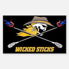 Wicked Sticks Decal