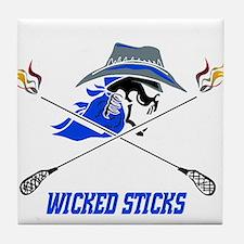 Wicked Sticks Tile Coaster