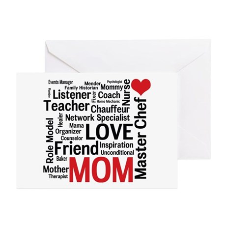 Mom's Birthday / Mother's Day Greeting Cards (Pk o