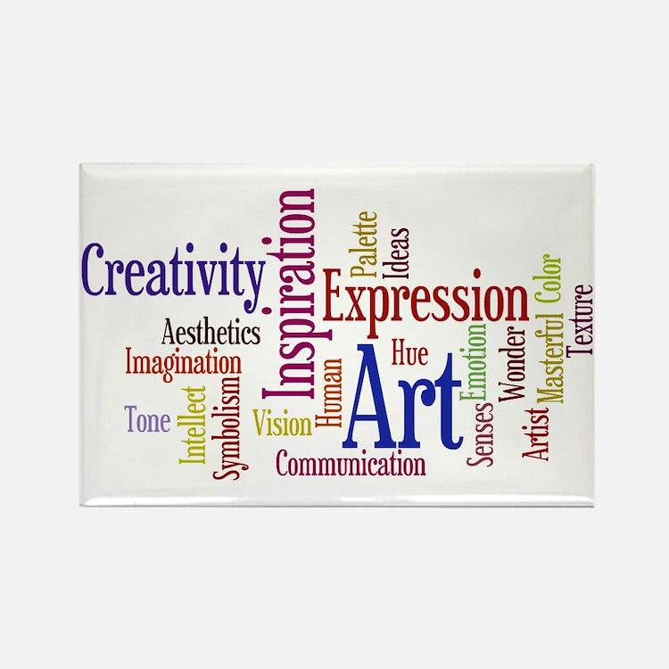 Artist Creative Inspiration Rectangle Magnet