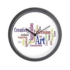 Artist Creative Inspiration Wall Clock