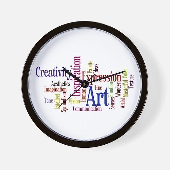 Artist Creative Inspiration Wall Clock