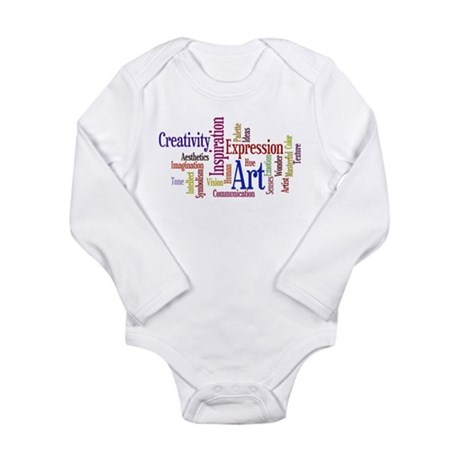 Artist Creative Inspiration Long Sleeve Infant Bod