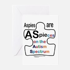 ASpie Greeting Cards (Pk of 20)