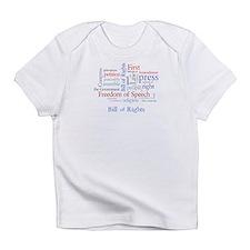 Freedom of Speech First Amendment Infant T-Shirt