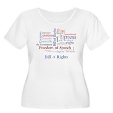 Freedom of Speech First Amendment T-Shirt