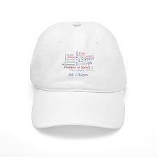 Freedom of Speech First Amendment Baseball Cap