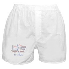 Freedom of Speech First Amendment Boxer Shorts