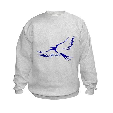 Dove of Peace Kids Sweatshirt