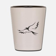 Dove of Peace Shot Glass