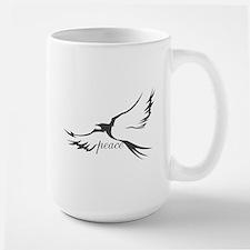 Dove of Peace Large Mug