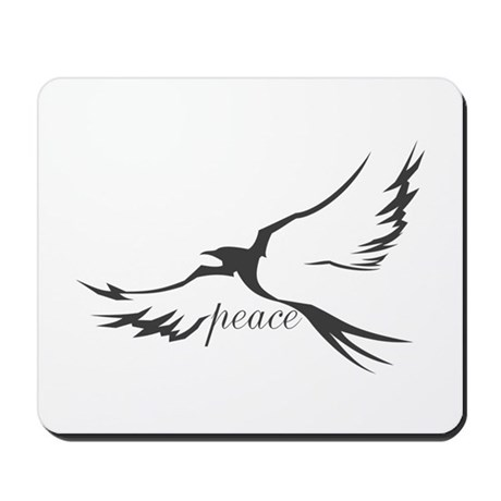 Dove of Peace Mousepad