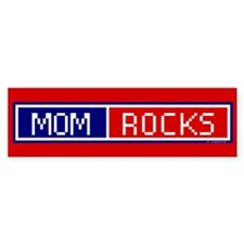 Mom Rocks Bumper Bumper Sticker
