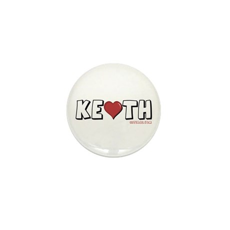 I Heart (Love) Keith Mini Button (10 pack)