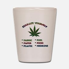 Marijuana Education - Shot Glass