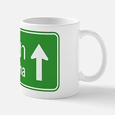 Sriracha Highway Sign Mug