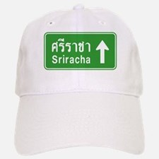 Sriracha Highway Sign Baseball Baseball Cap