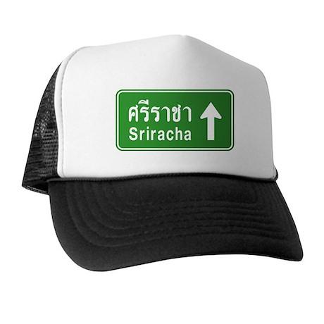 Sriracha Highway Sign Trucker Hat