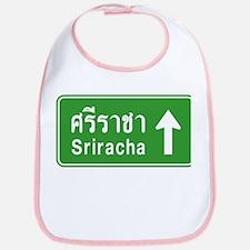Sriracha Highway Sign Bib