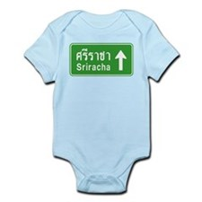 Sriracha Highway Sign Infant Bodysuit