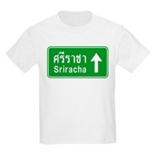 Sriracha Highway Sign T-Shirt