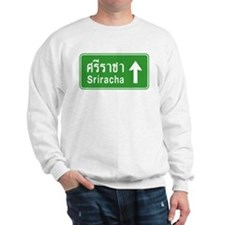 Sriracha Highway Sign Sweatshirt